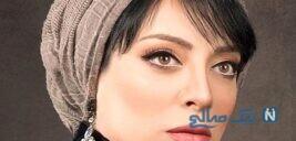 حمیرا ریاضی همسر علی اوسیوند بازیگر معروف بر سر مزار پدرش