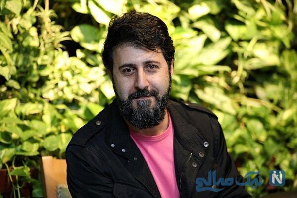 هومن حاجی عبداللهی بازیگر پایتخت به همراه همسر و پسرش جانان