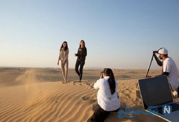 مدل اسرائیلی در صحرای دبی