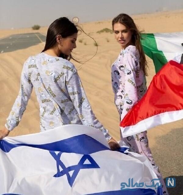 تبلیغ لباس مای تاگر در امارات