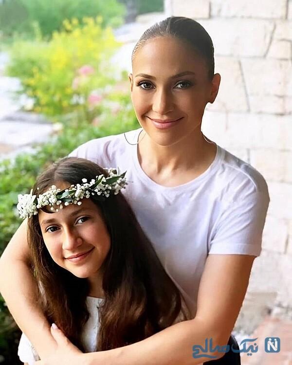 خواننده معروف و دخترش