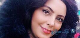 لایو زیارت نیلوفر شهیدی بازیگر در صحن شاهچراغ شیراز