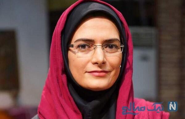 کوهنوردی مهسا ملک مرزبان مجری تلویزیون با همسرش علی باقری