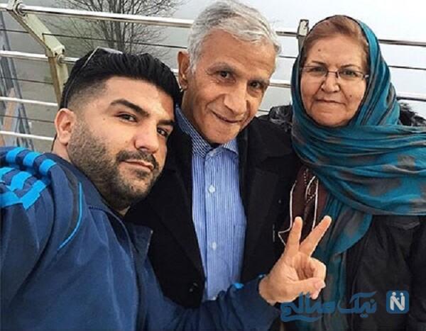 مادر و پدر مجید خراطها