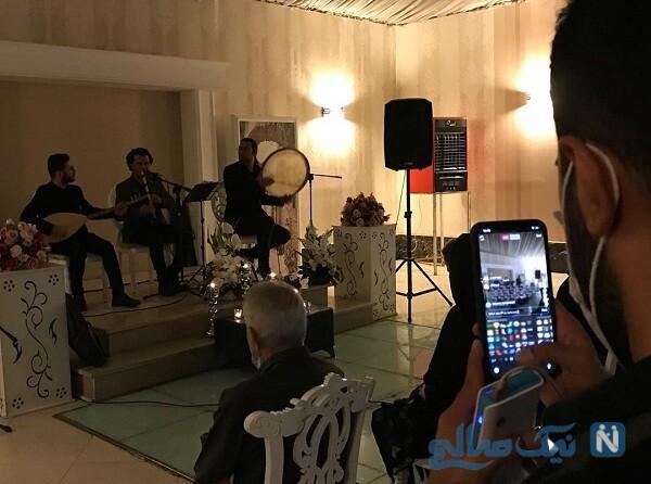 موسیقی زنده در مراسم ختم