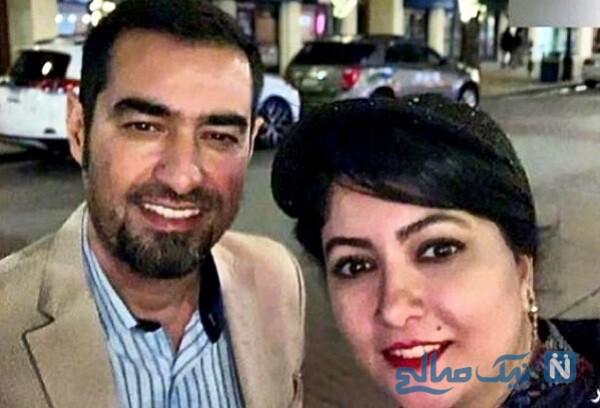 شهاب حسینی و خانم بازیگر