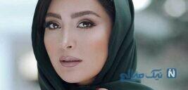 ورزش بدن سازی مریم معصومی بازیگر در باشگاه الهیه تهران