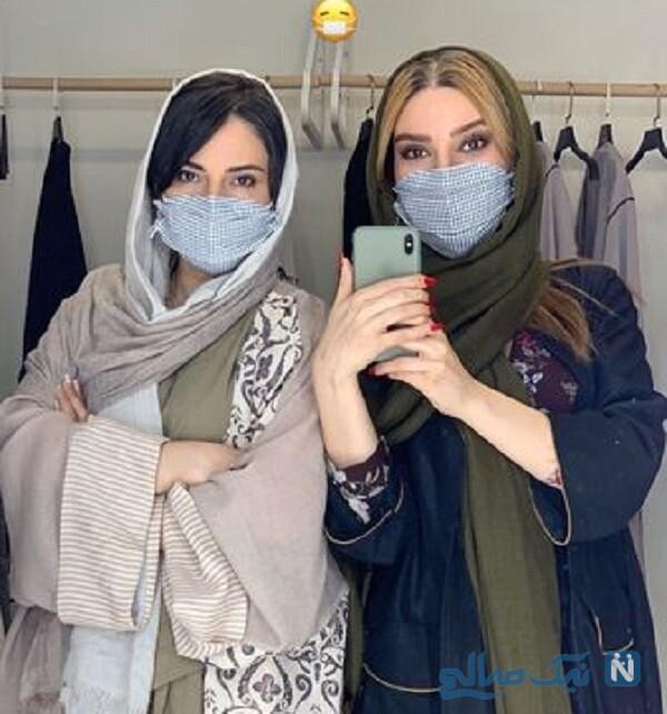 خانم های بازیگر در مزون تهران