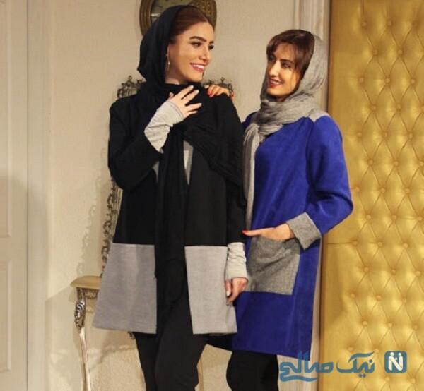 متین ستوده و سمیرا حسینی بازیگر