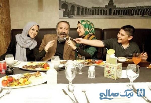 رستوران گردی مهران رجبی با دختران و پسرش