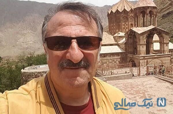 رستوران گردی مهران رجبی با فرزندانش قبل از کرونایی شدنش