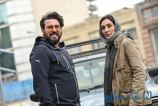 محسن کیایی هدیه تهرانی در سریال هم گناه