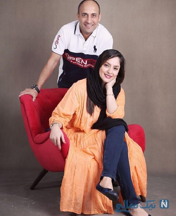 مارال بنی آدم و همسرش
