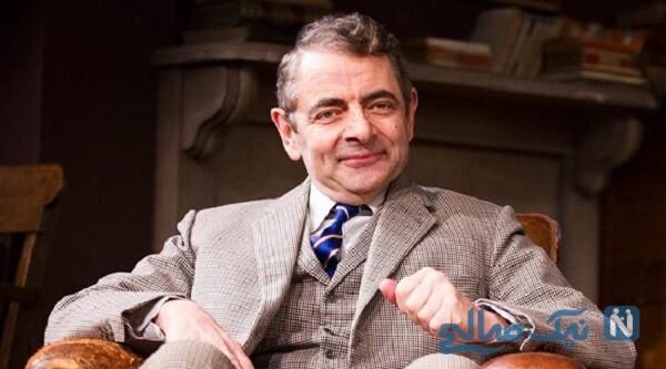 تغییر چهره روان اتکینسون «مستر بین» بازیگر ۶۵ ساله در لندن