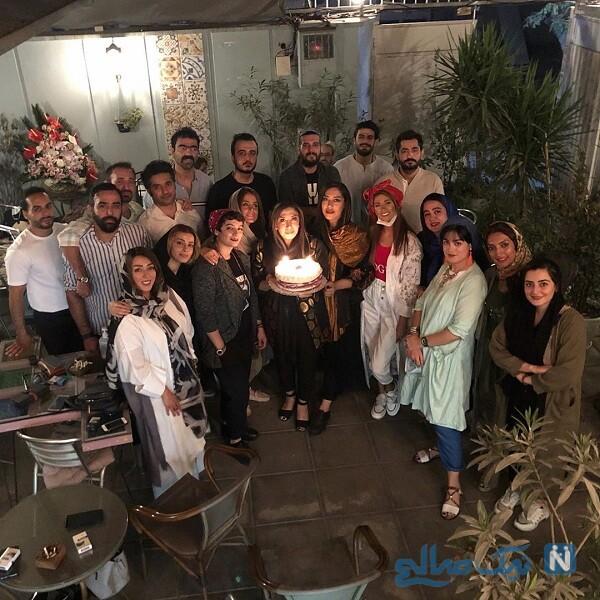 تولد نسیم ادبی با حضور دوستانش