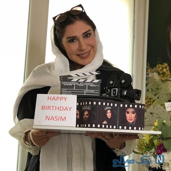 جشن تولد نسیم ادبی بازیگر