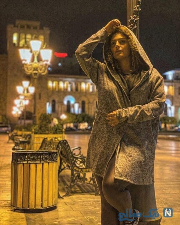 نگین معتضدی در ایروان ارمنستان