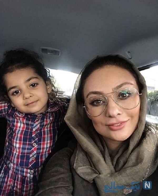 سلفی مادر دختری یکتا ناصر