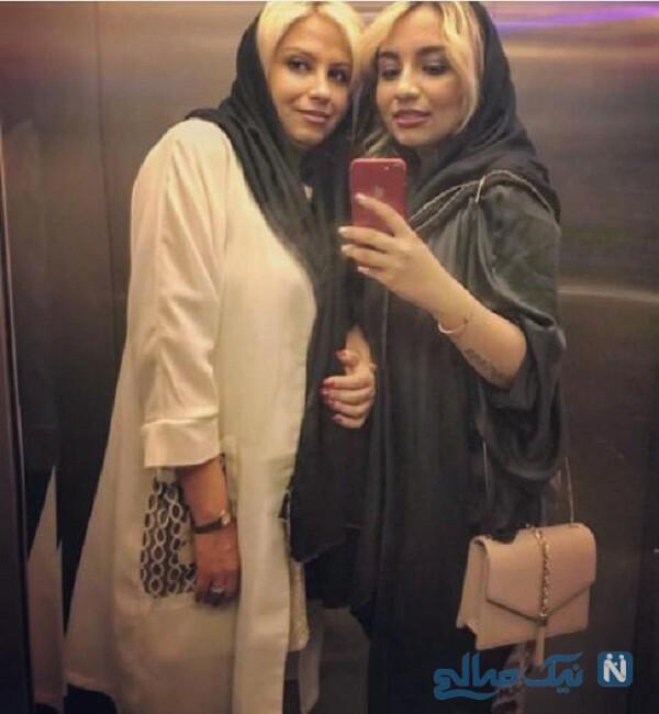 نیروانا قاسم خانی و مادرش مریم گلرو