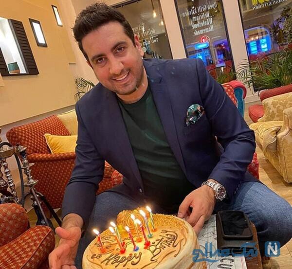 جشن تولد امید حاجیلی خواننده
