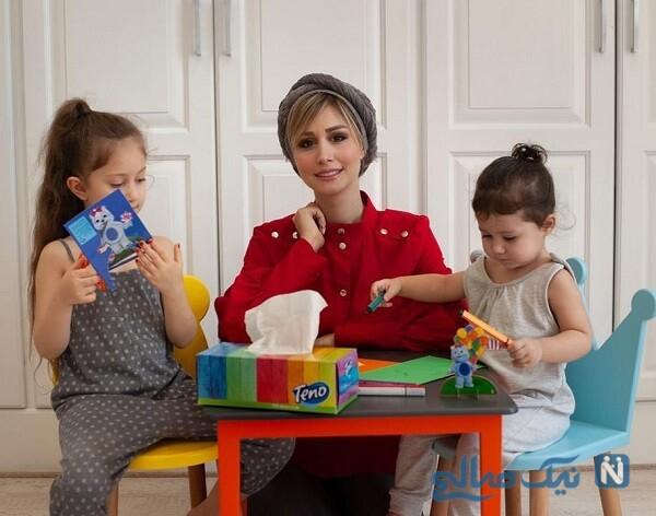 سپیده بزمی پور و فرزندانش