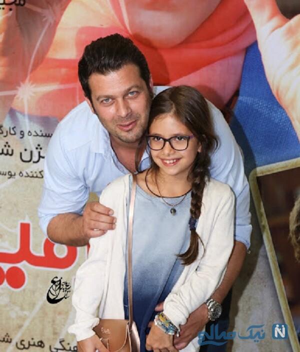 جشن تولد دختر پژمان بازغی بازیگر معروف