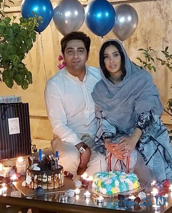 جشن تولد علی سخنگو و سارا نجفی