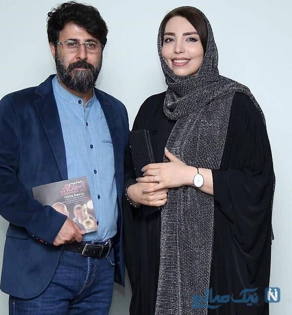 عکس هومن حاجی عبداللهی و همسرش