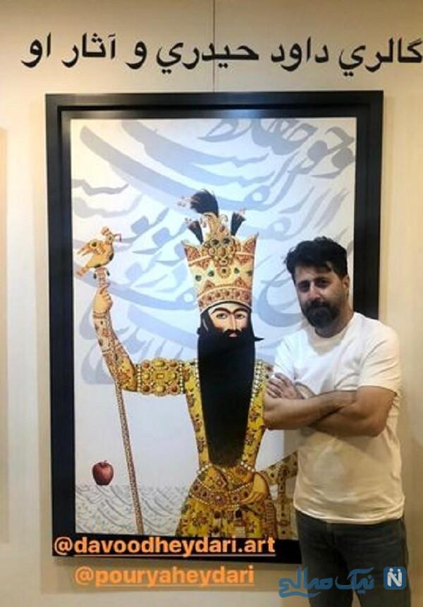 هومن حاجی عبداللهی در گالری نقاشی