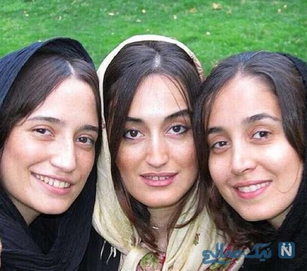 جالب ترین عکس نگار جواهریان و خواهرانش