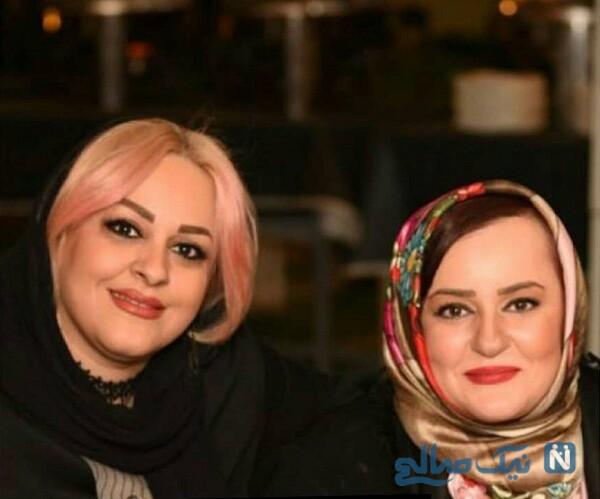 نعیمه نظام دوست و خواهرش