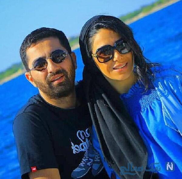 عکس علی سخنگو و همسرش