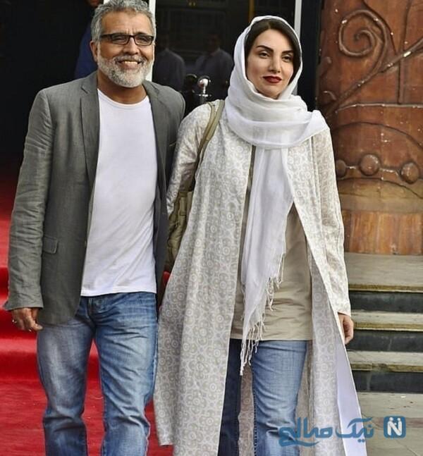 مرجان شیرمحمدی وهمسرش بهروز افخمی