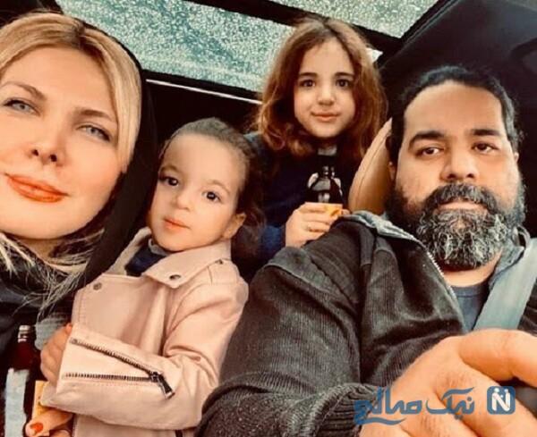همسر و فرزندان خواننده ایرانی
