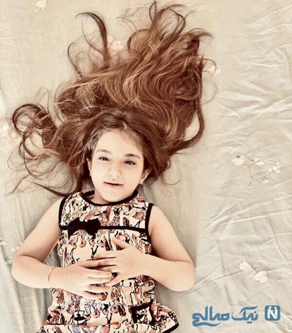 عکس تیارا دختر رضا صادقی خواننده معروف