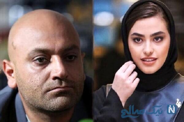 مهدی کوشکی و خانم بازیگر