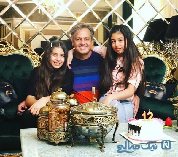 جشن تولد دختران رضا شاهرودی