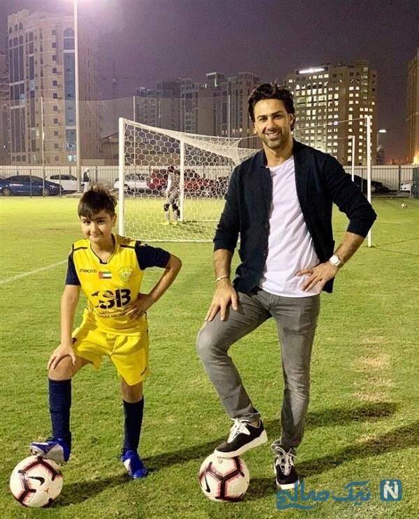 سرمربی فوتبال و پسرش