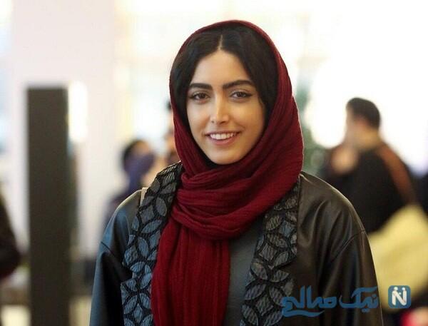 لباس ساناز طاری بعد از کشف حجاب اش
