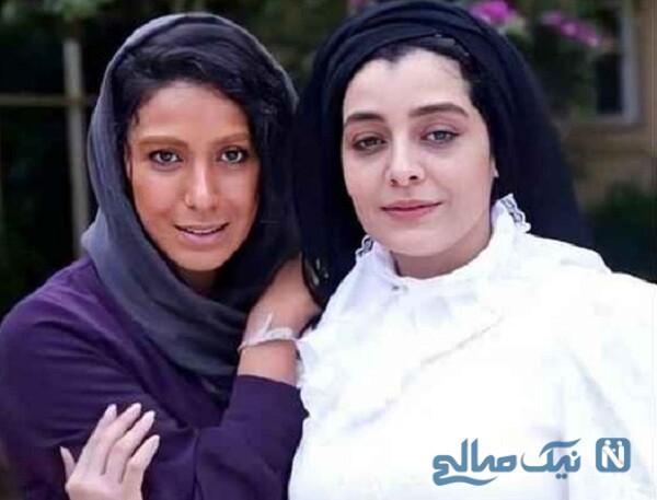 ساره بیات و سارا نجفی بازیگر دل