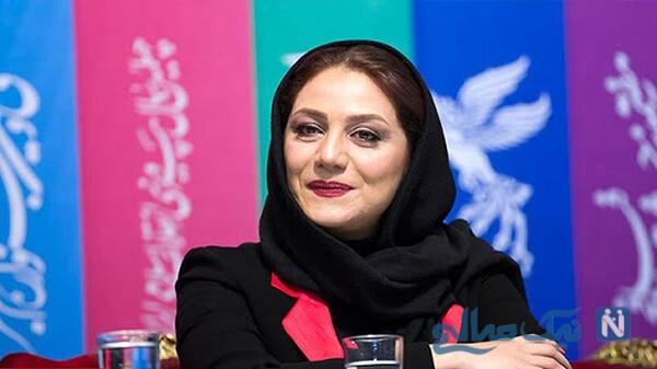 شبنم مقدمی بازیگر هیولا در کنار همسرش علیرضا آرا و دخترش
