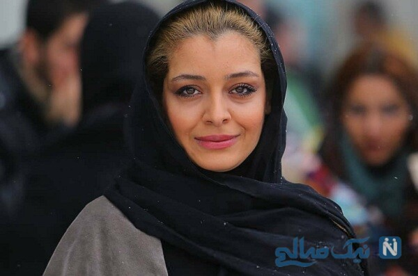 ست لباس ساره بیات در عکس دو نفره با شهرام حقیقت دوست