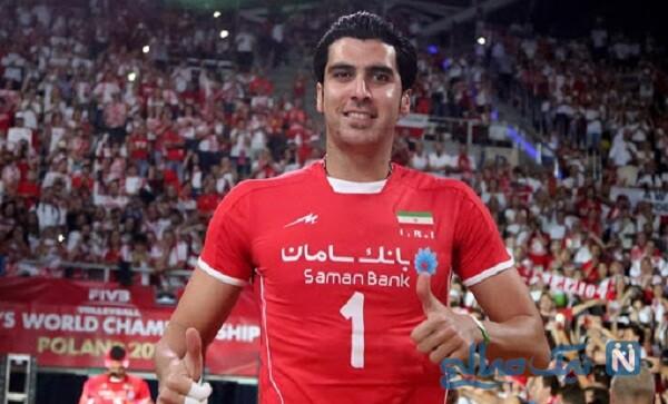 بازیکن والیبال تیم ملی ایران