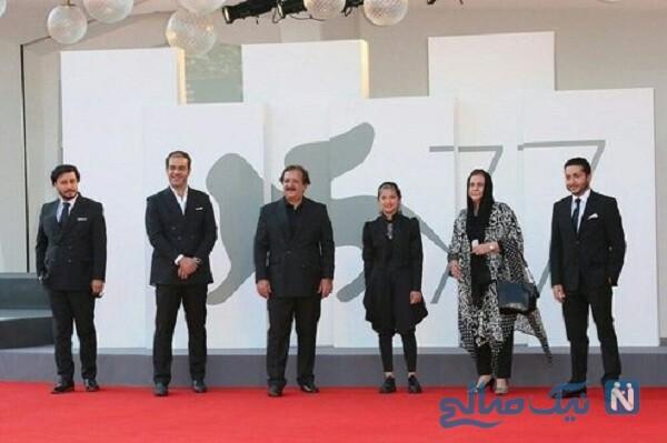 بازیگر افغان در ونیز