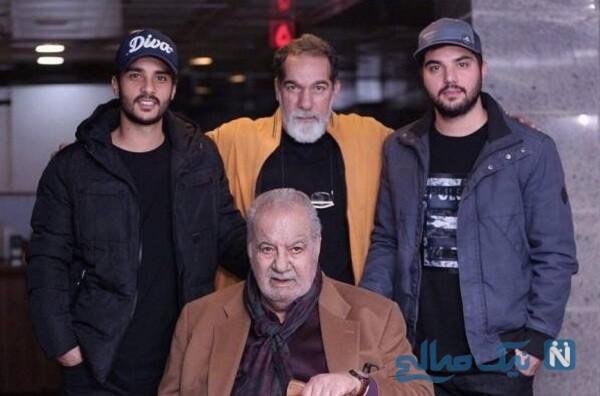 پدر و برادر سینا مهراد