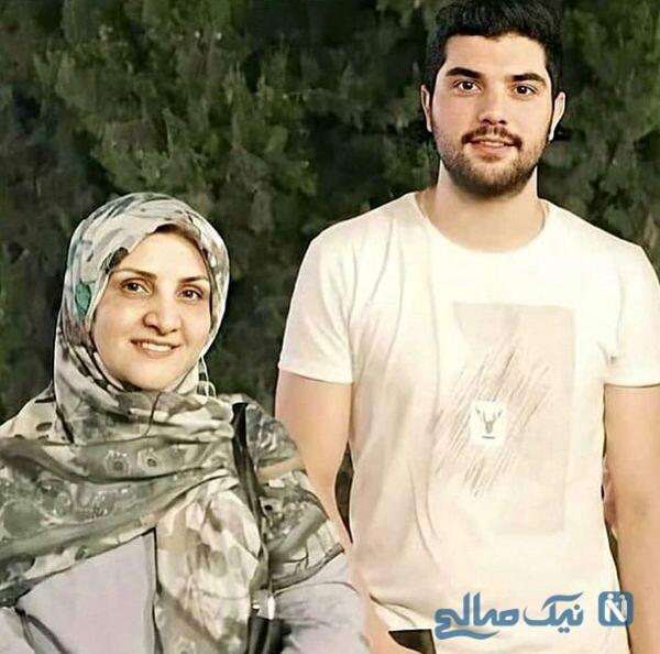 سینا مهراد و مادرش