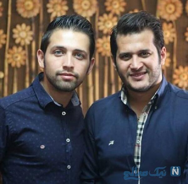 سیاوش خیرابی و محسن افشانی