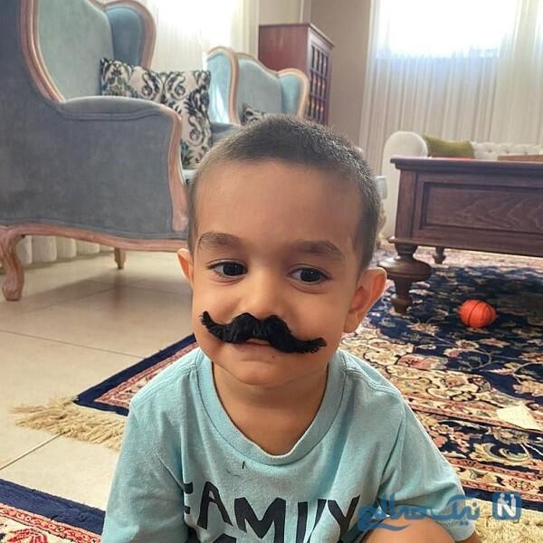 شباهت پسر نیما کرمی مجری مشهور به «بهنام بانی»