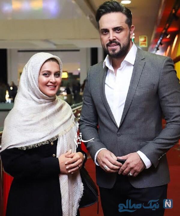 مجری معروف و همسرش