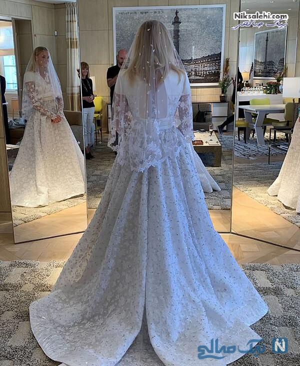 لباس عروس سوفی ترنر